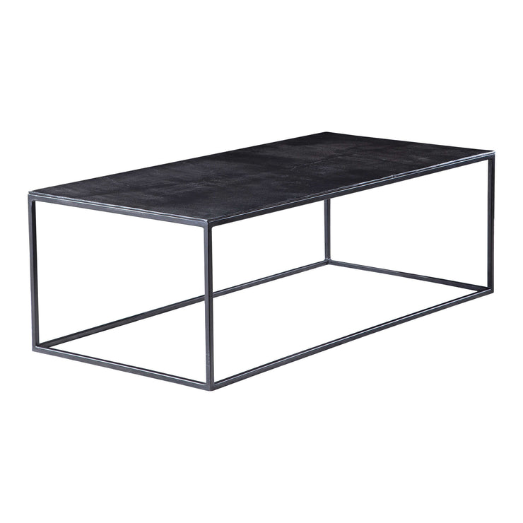 Aged Black Iron Cocktail Table - Mix Home Mercantile