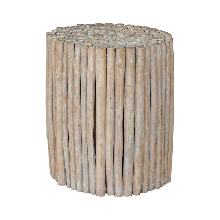 Natural Teak Accent Table - Mix Home Mercantile