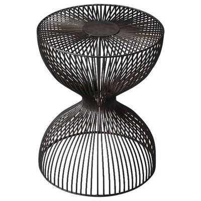 Iron Cage Accent Table - Mix Home Mercantile