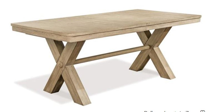 "78"" Trestle Dining Table w/base - Mix Home Mercantile"