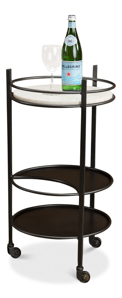 Tiered Bar Cart Trolley - Mix Home Mercantile
