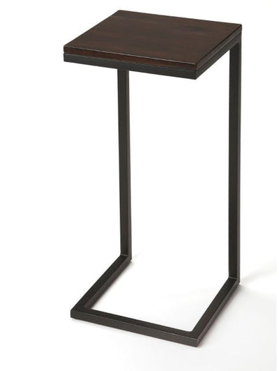Metal and Wood Drink Table - Mix Home Mercantile