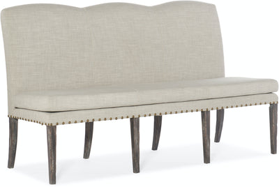 Upholstered Dining Bench - Mix Home Mercantile