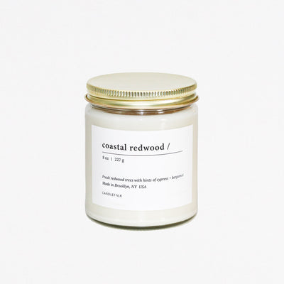 Coastal Redwood 8oz Candle - Mix Home Mercantile