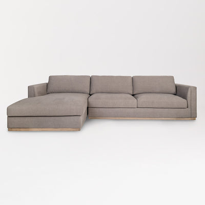 Contemporary Sectional with Left Facing Chaise - Mix Home Mercantile