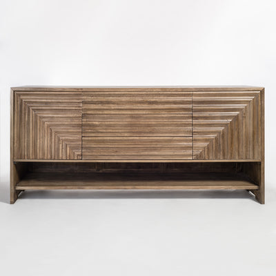"78"" Light Ash Sideboard - Mix Home Mercantile"