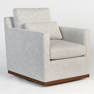 Slate Gray Swivel Chair - Mix Home Mercantile