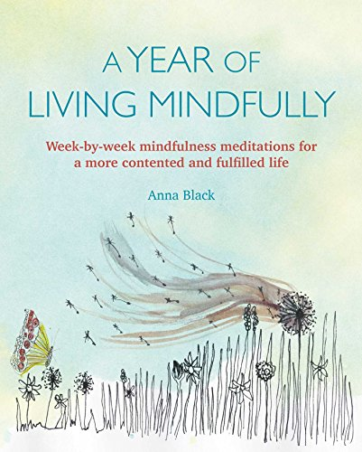 A Year of Living Mindfully Softcover - Mix Home Mercantile