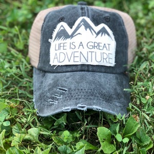 Great Adventure Trucker Hat -Ladies - Mix Home Mercantile