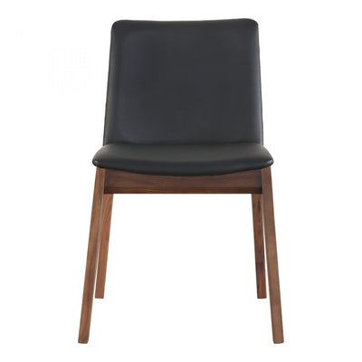 Faux Leather Black Dining Chair - Mix Home Mercantile
