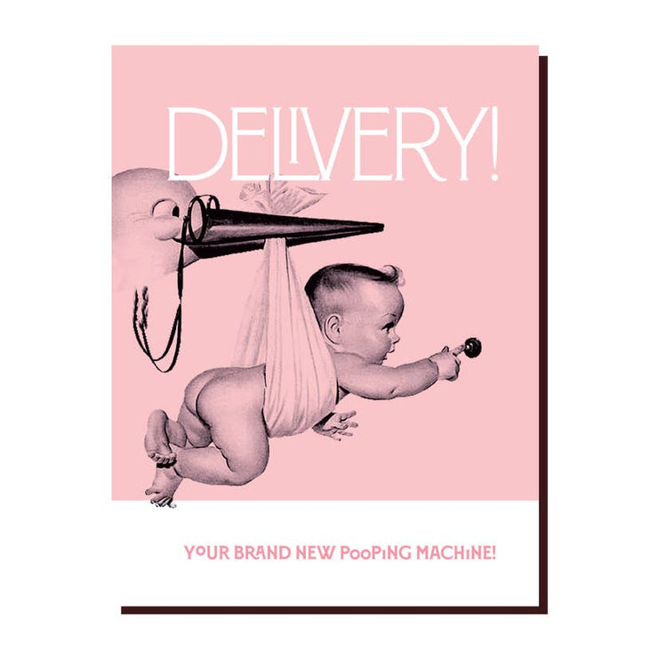 Baby Delivery Greeting Card - Mix Home Mercantile