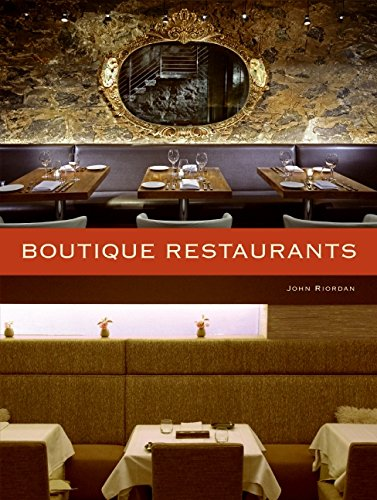 Boutique Restaurants Hardcover - Mix Home Mercantile