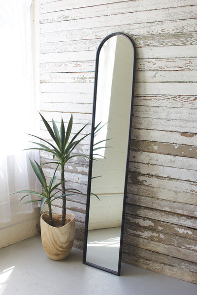 Metal Frame Leaning Mirror - Mix Home Mercantile