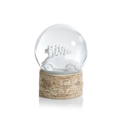 Tree on Car Snow Globe - Mix Home Mercantile
