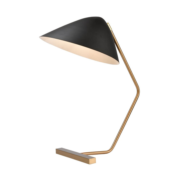 Brass and Black Table Lamp - Mix Home Mercantile
