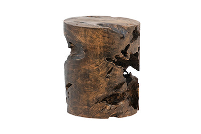 Teak Root Natural End Table - Mix Home Mercantile