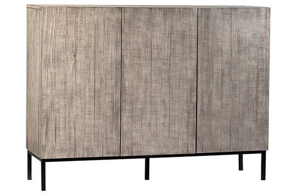 Grey Solid Pine Sideboard
