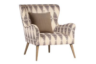 Casual Accent Chair w/Pillow - Mix Home Mercantile