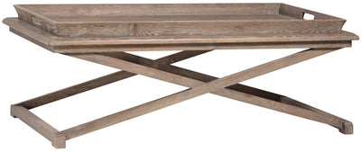 Rectangular Coffee Table w/Tray - Mix Home Mercantile