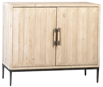 "43"" Wood and Iron Sideboard - Mix Home Mercantile"