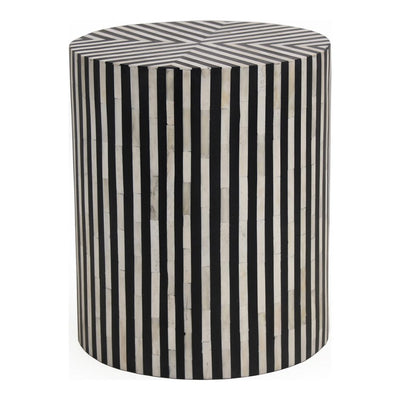 Black and White Side Table - Mix Home Mercantile