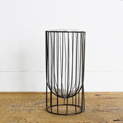 "10"" Modern Candle Holder - Mix Home Mercantile"