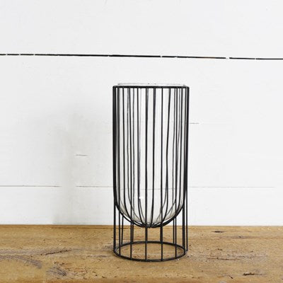 "12"" Modern Candle Holder - Mix Home Mercantile"
