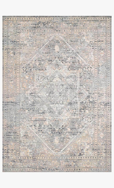 "Gray Sunset Rug 5'2"" x 7'7"" - Mix Home Mercantile"