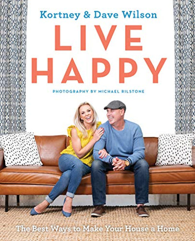 Live Happy Softcover - Mix Home Mercantile