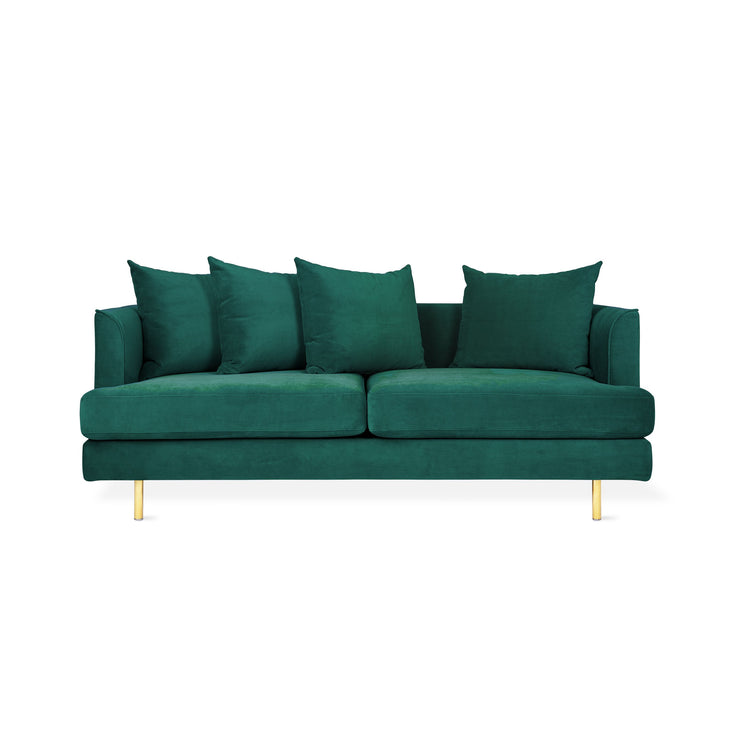 Velvet Spruce Sofa - Mix Home Mercantile