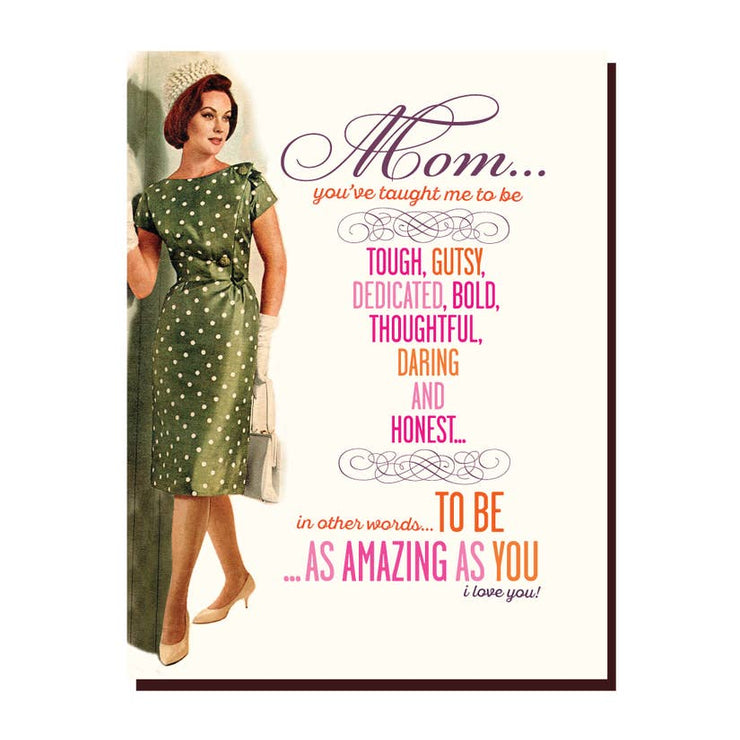 Amazing Mom Greeting Card - Mix Home Mercantile