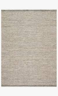 "7' 9"" X 9' 9"" Handwoven Grey Area Rug - Mix Home Mercantile"