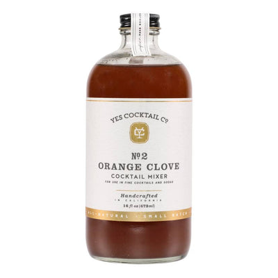 Old Fashioned Orange Clove Cocktail Mixer - Mix Home Mercantile
