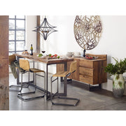 Leather Counter Stool - Mix Home Mercantile