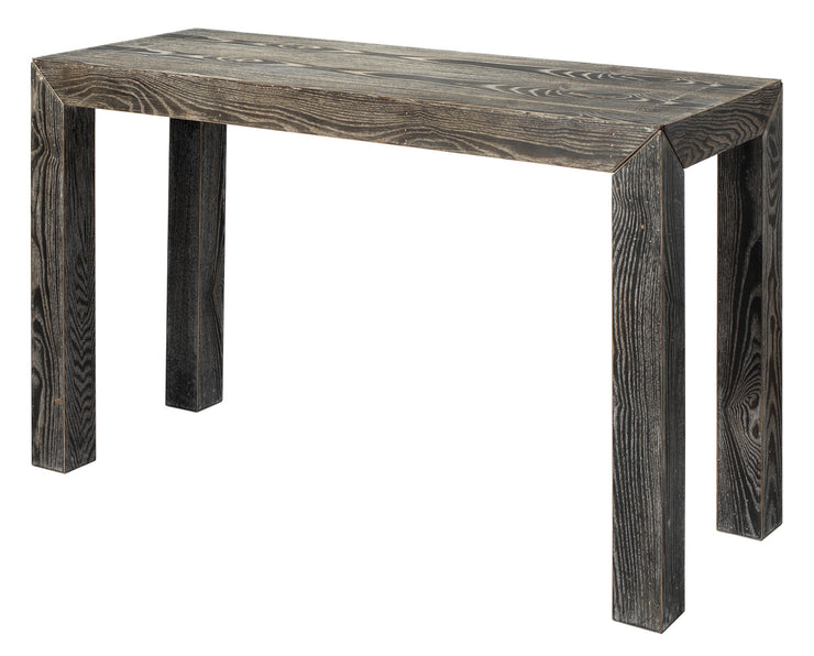 Dark Oak Plank Console Table - Mix Home Mercantile