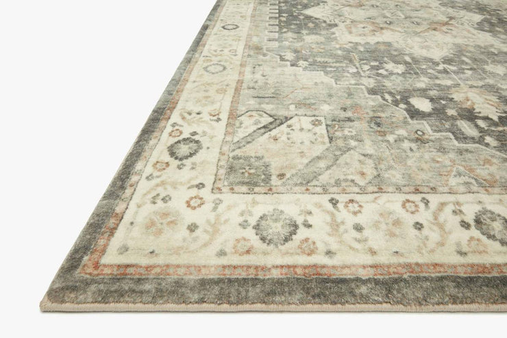"7'6"" x 9'6"" Sage and Beige Super Soft Rug"