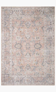 "Blush Gray Rug 7'6"" x 9'6"" - Mix Home Mercantile"