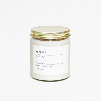 8 oz. Santal Soy Candle - Mix Home Mercantile