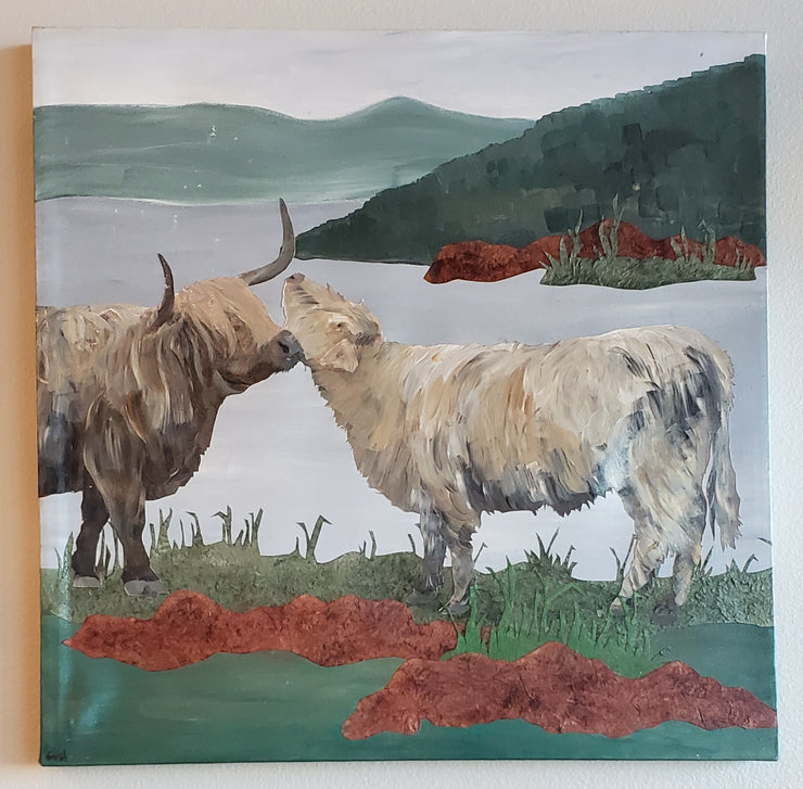 Scottish Cows II - Mix Home Mercantile