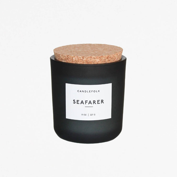 Seafarer 8 oz Soy Candle - Mix Home Mercantile