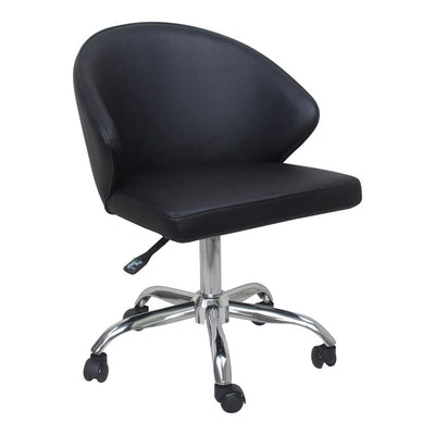 Black Swivel Office Chair - Mix Home Mercantile