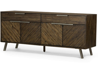 Chevron Hazel Finished Sideboard - Mix Home Mercantile