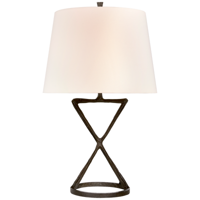 Aged Iron Contemporary Table Lamp