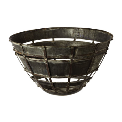 Urban Industrial Metal Bowl - Mix Home Mercantile