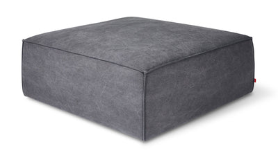 Smoke Grey Modular Ottoman - Mix Home Mercantile