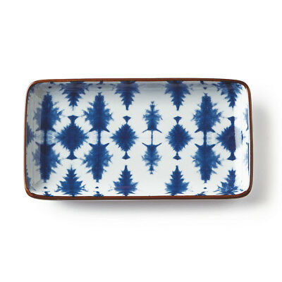 8 Inch Indigo Tray - Mix Home Mercantile