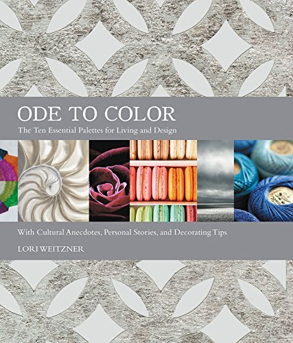 Ode to Color hardcover - Mix Home Mercantile