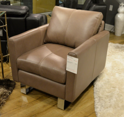 Top Grain Leather Chair and a Half - Mix Home Mercantile