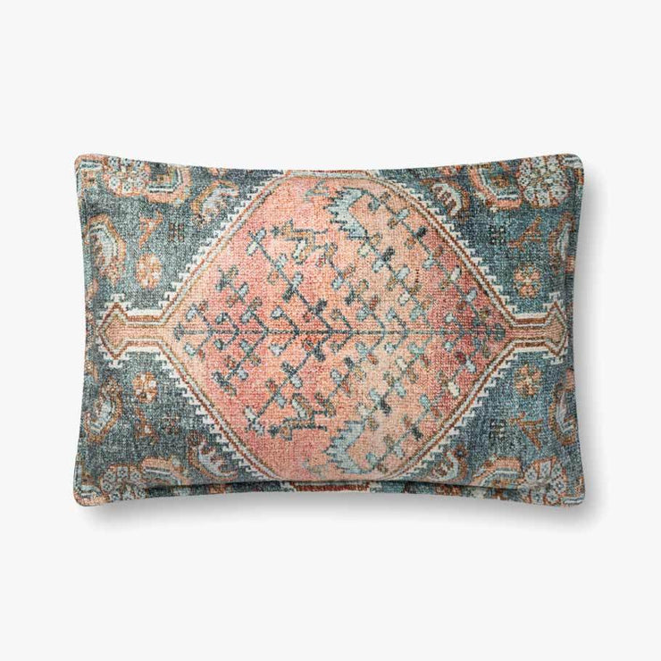 16 X 26 Down Filled Multi Color Pillow - Mix Home Mercantile