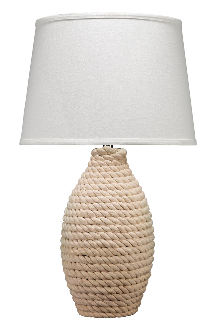 Rope Table Lamp - Mix Home Mercantile